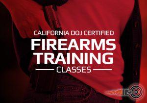 California Firearms Training Shooting Classes