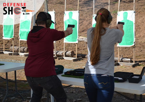 Shooting At CCW Firing Range