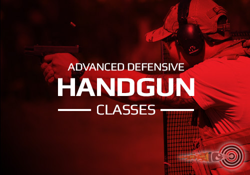 ADVANCED HANDGUN SHOOTING CLASSES