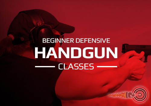 BEGINNER HANDGUN SHOOTING CLASSES