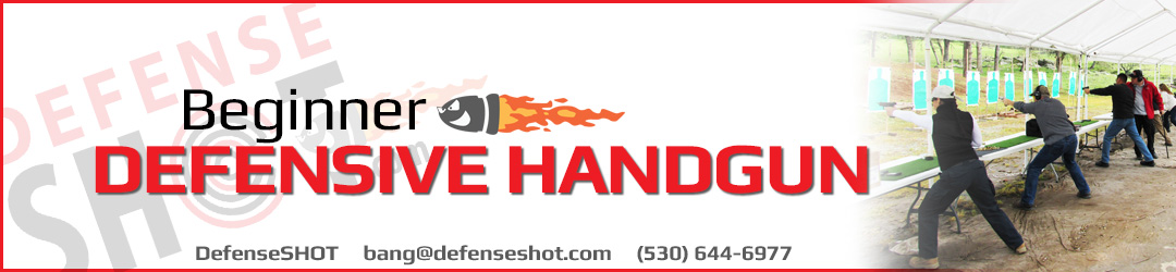 Beginner Handgun Shooting Course