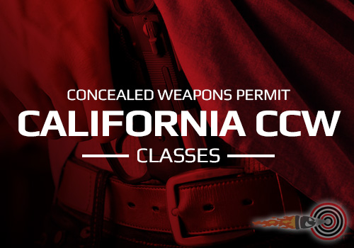 California CCW Classes For Sacramento & El Dorado County