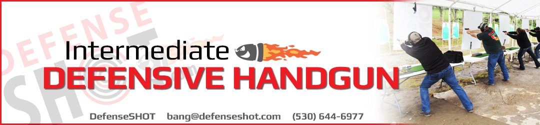 Intermediate Handgun Shooting Course