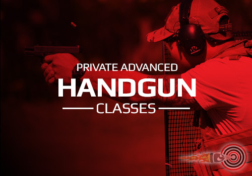 Private Advanced Handgun Shooting Classes
