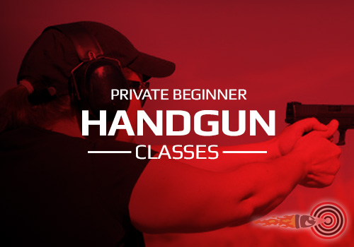 Private Beginner Handgun Shooting Classes