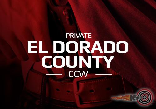 Private El Dorado County CCW