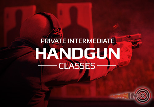 Private Intermediate Handgun Shooting Classes